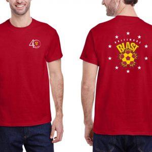 40th Anniversary T-Shirt Performance Short Sleeve