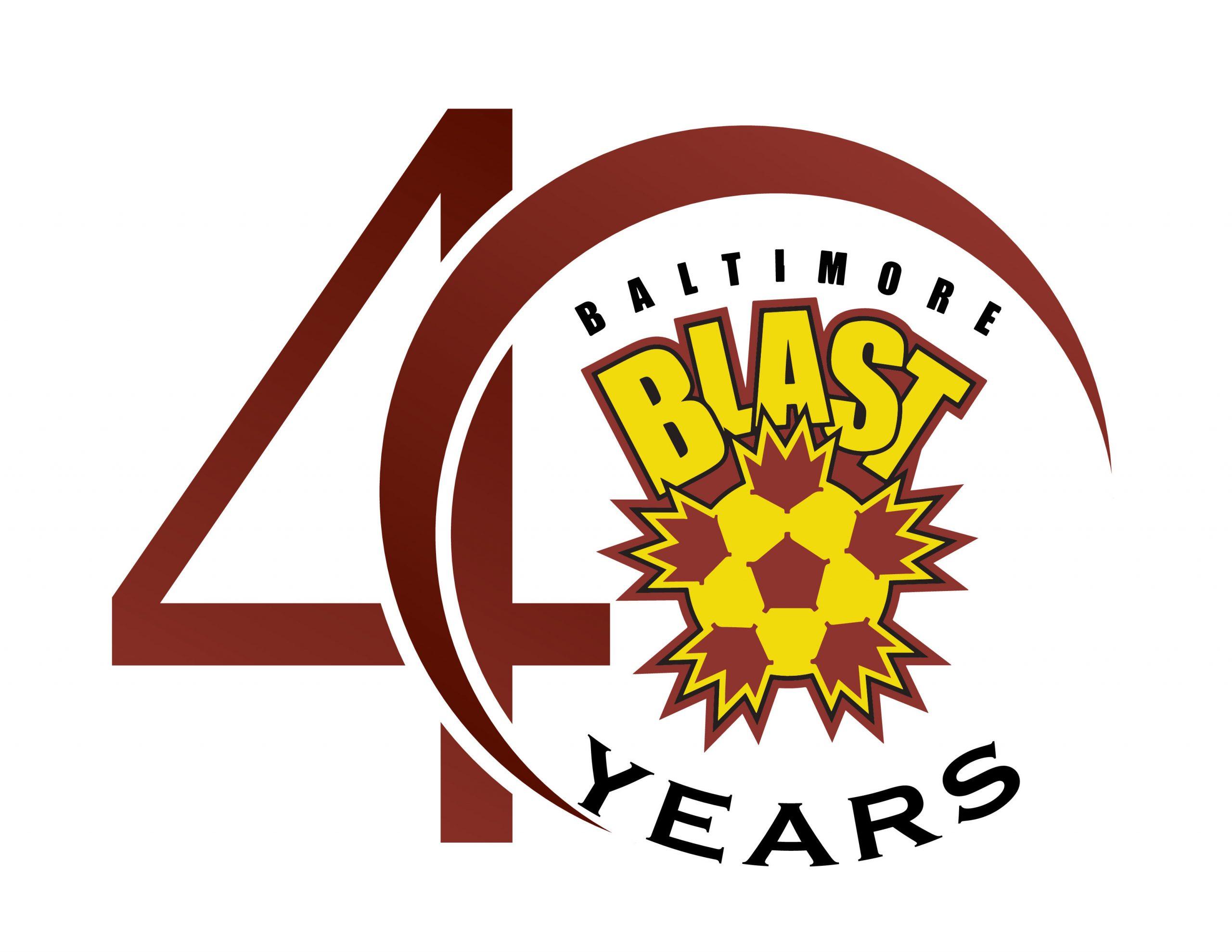 Blast 40 Year Logo